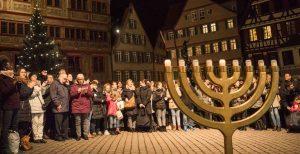 Chanukka Tage Tübingen Marsch des Lebens