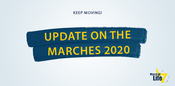 The March of Life – keep moving!