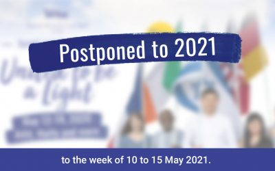 March of the Nations is postponed to 2021